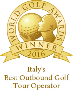 Italy's Best Outbound Golf Tour Operator 2016 World Golf Awards Winner